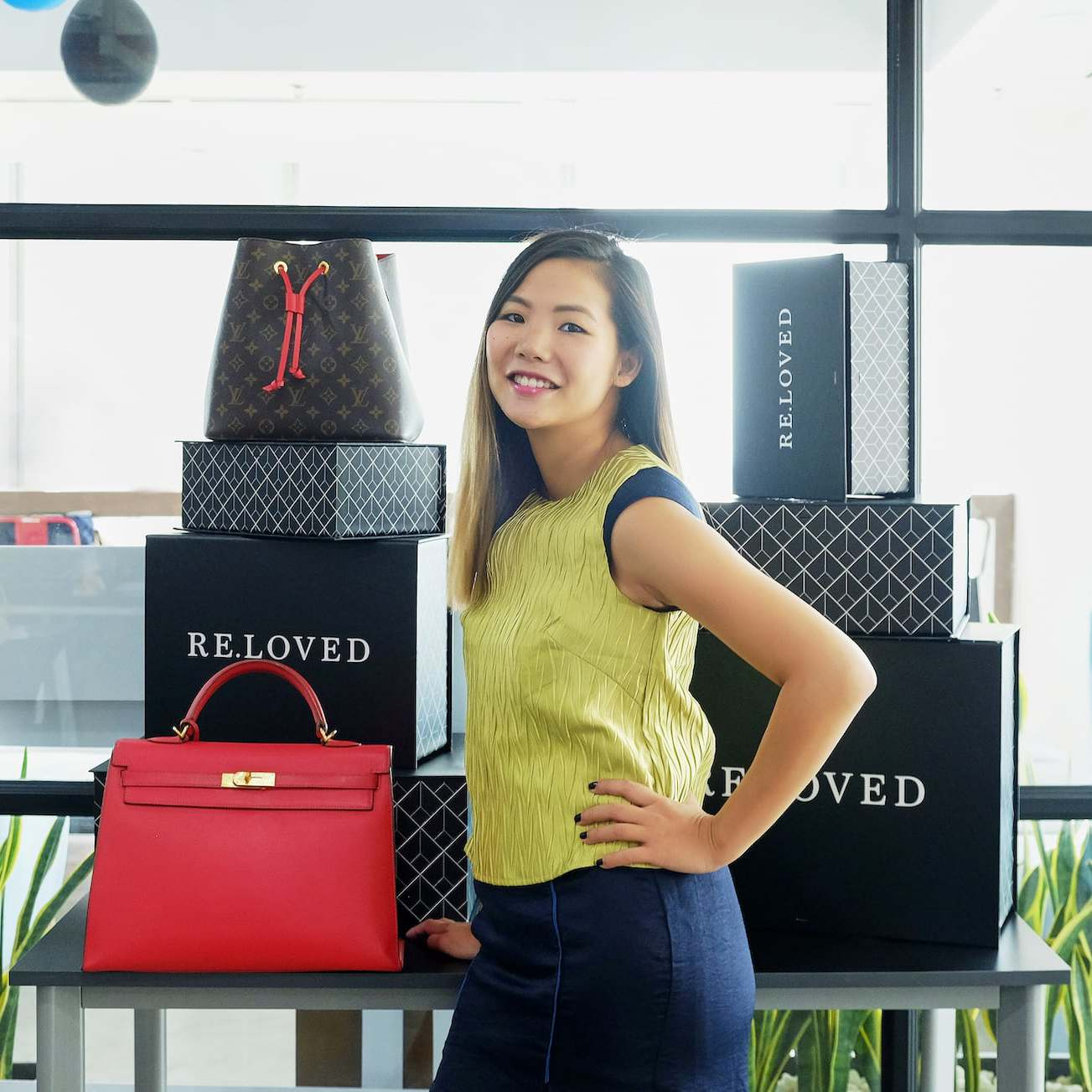 A Working Woman: Lisa Le Long On Giving Pre-owned Luxury A Second Life