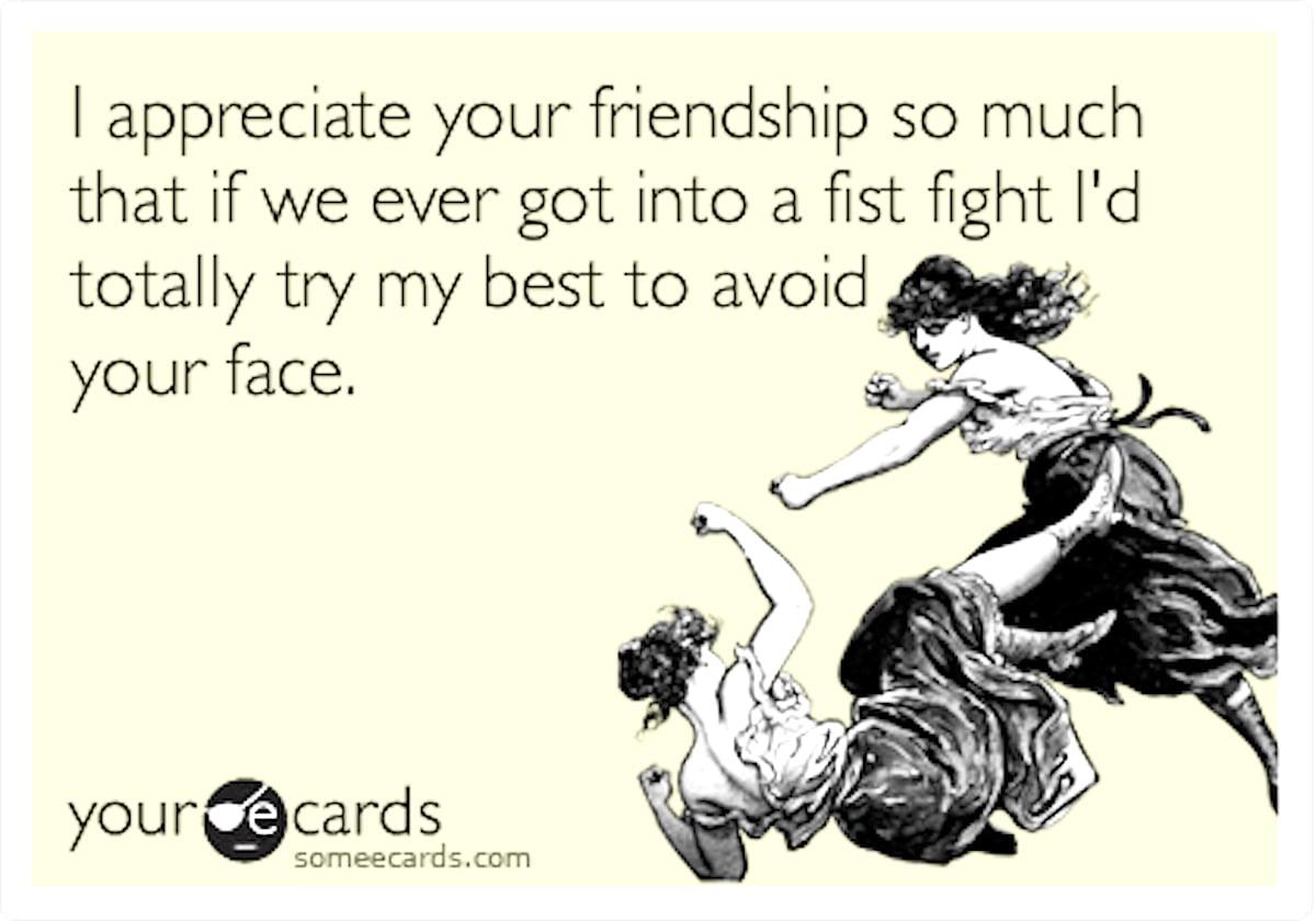tình bạn - tranh cãi