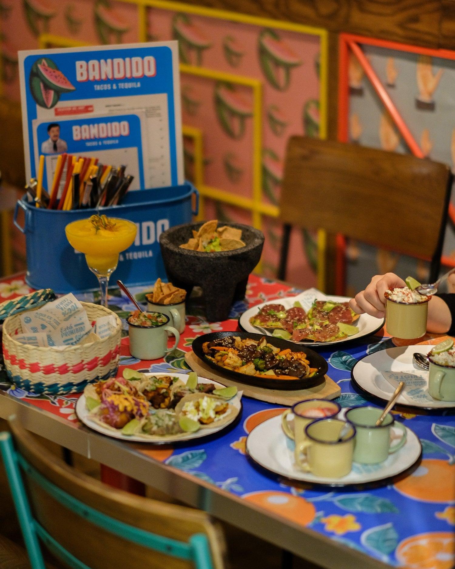 Mexican food at Bandido Saigon