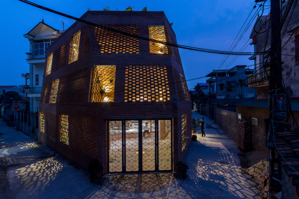 The Brick Cave house in Hanoi by HPA