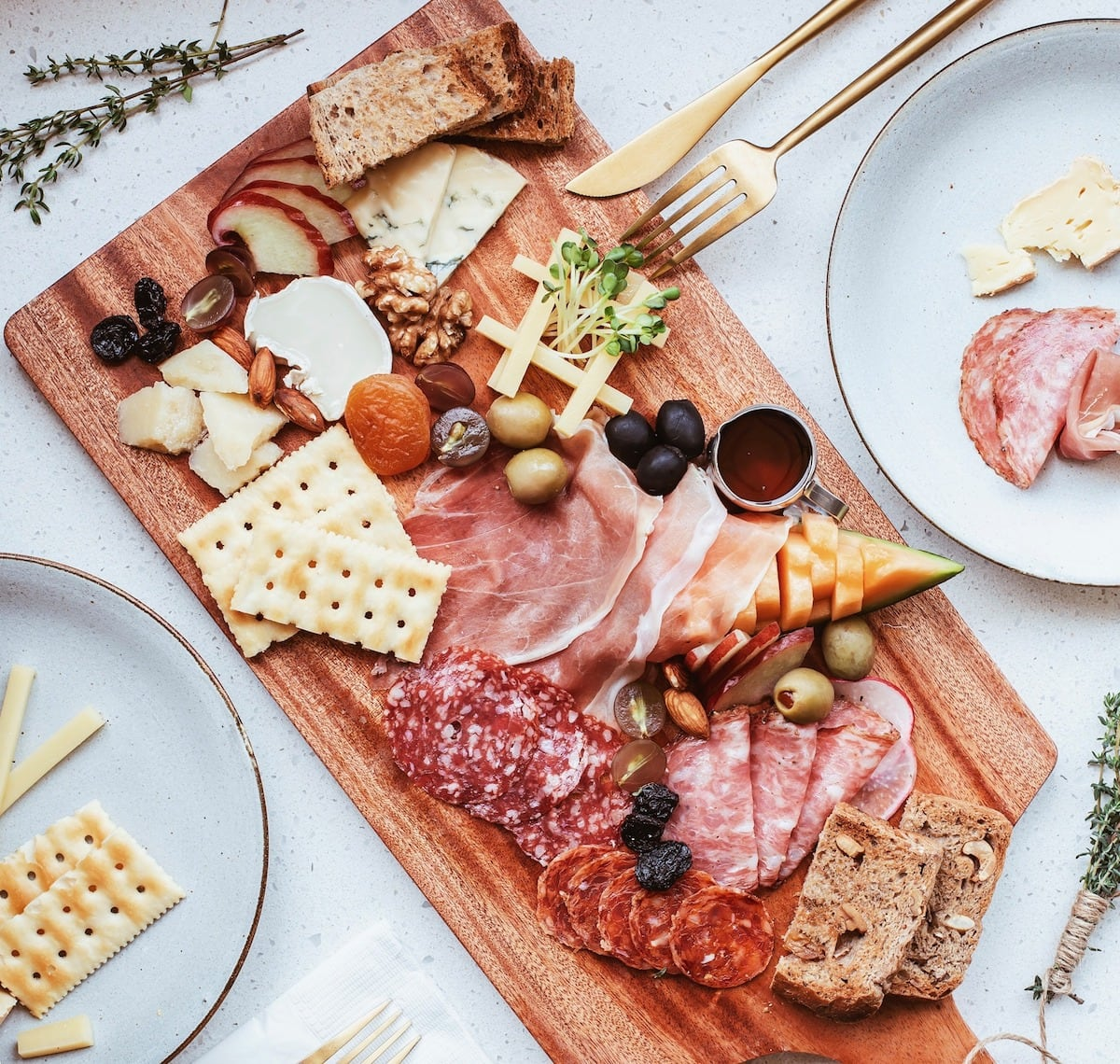 Cold cuts at Haan - Drink & Eatery