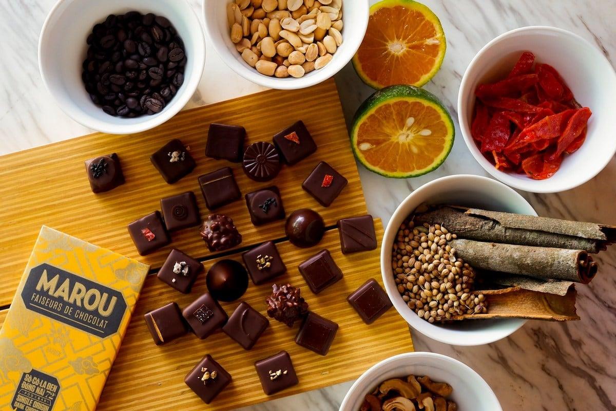Chocolate at Maison Marou