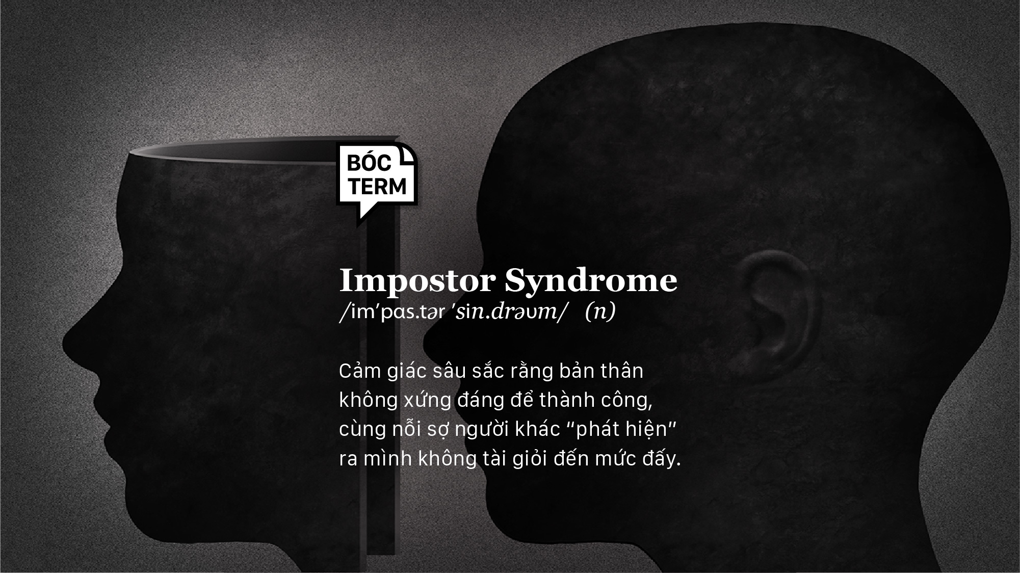 Bóc Term: Impostor syndrome là gì?