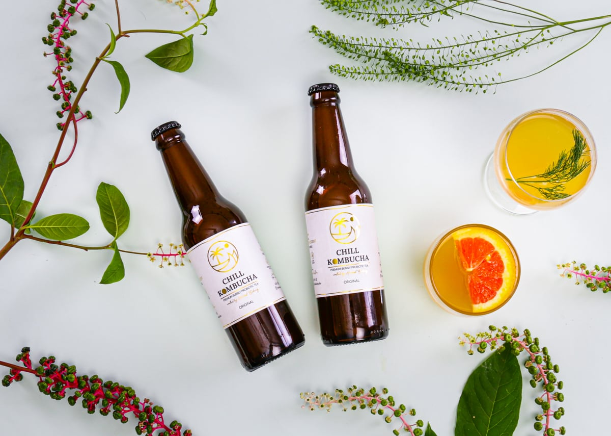 Diana started brewing her own kombucha as an alternative to the sugary store-bought versions.