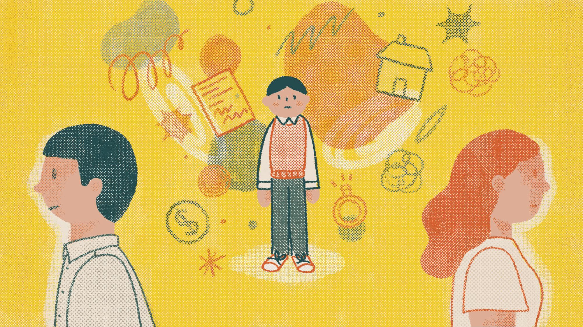 5 Điều nên làm khi bố mẹ ly hôn