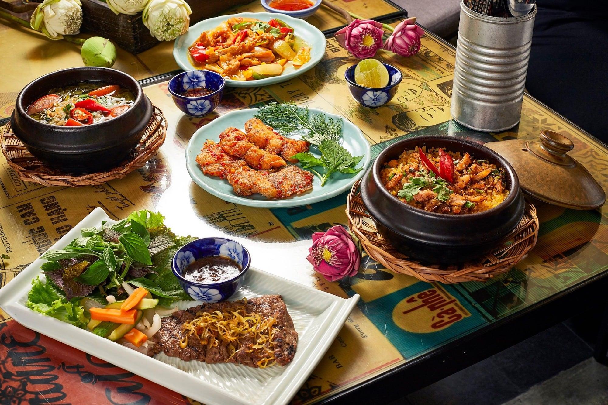 Thưởng ngoạn tinh hoa ẩm thực Việt ở Sài Gòn