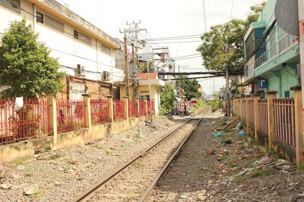 Railway alleyway