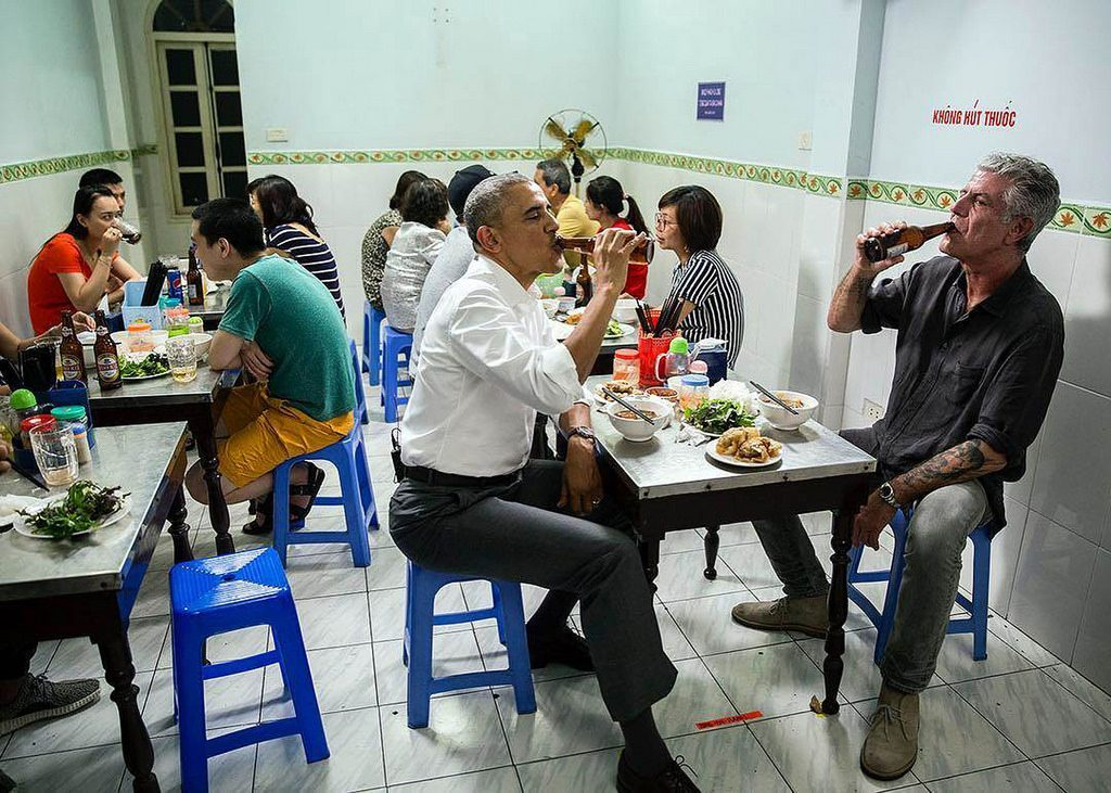 bun cha hanoi Obama