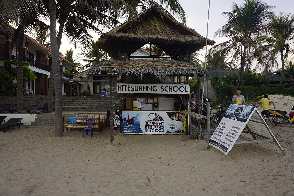 Kitesurfing School in Mui Ne