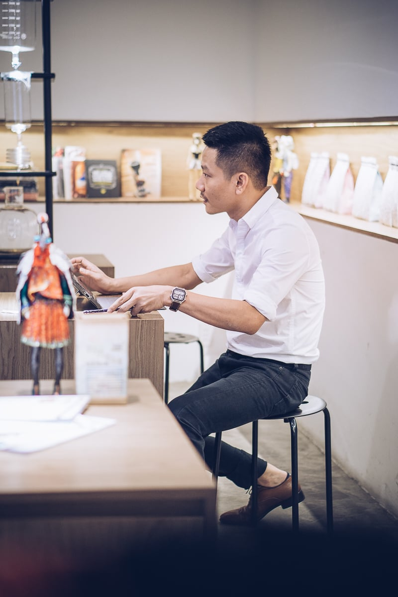 Phong Lam From Vietnam Coffee Republic