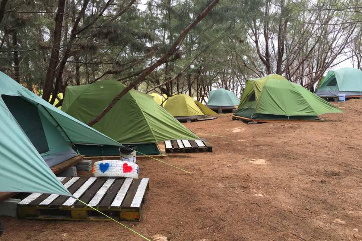 Ho Tram Camping