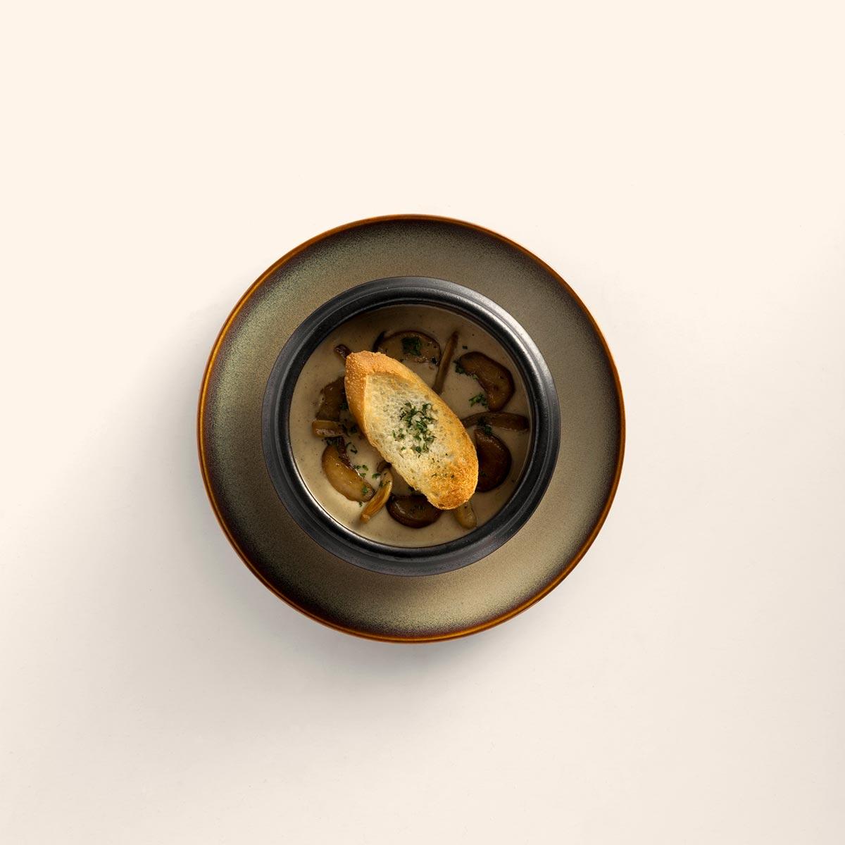 L'Usine Eatery - Mushroom Soup
